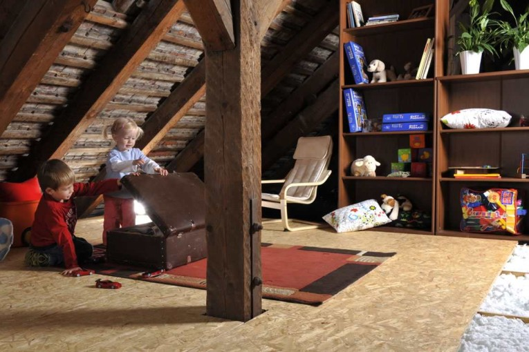 izolace stropů
