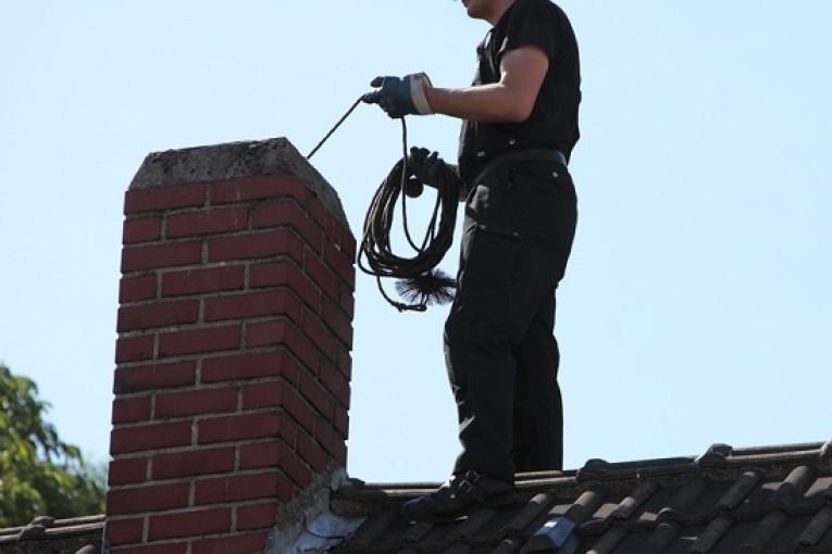 kominík, čištění komínů