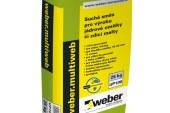 Weber vyvinul univerzální stavební polotovar – pro zdění i k omítání