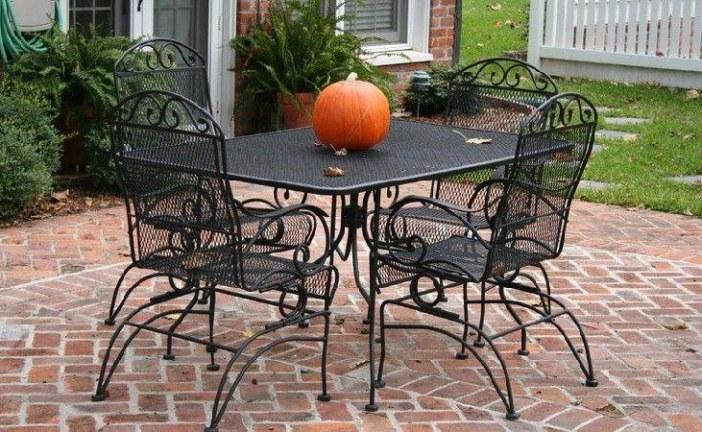 Kovový zahradní nábytek: víte, jak ho opravit?