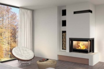 Moderní krby a kamna vytvoří teplo domova