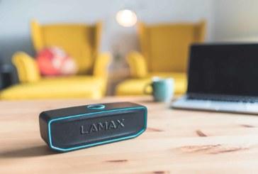 Přenosný reproduktor LAMAX Solitaire1 nabídne hutný zvuk i zajímavý vzhled